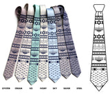 Hanukkah Sweater neckties, by Cyberoptix