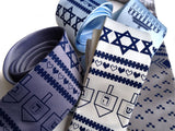 Hanukkah Sweater silk necktie