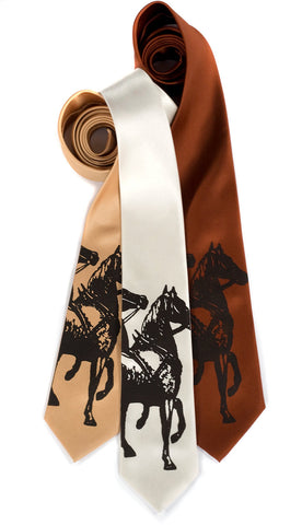 High Horse Silk Necktie