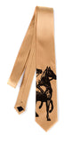 Horse print tie, by cyberoptix. Honey.