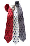 Hockey fan neckties, by Cyberoptix