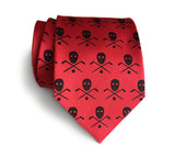 Red Hockey necktie, by Cyberoptix