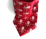 Redwings fan Hockey necktie, by Cyberoptix