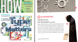 Cyberoptix personalized ties featured in How Magazine
