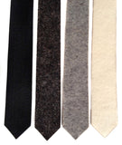 Wool industrial felt neckties, by Cyberoptix.