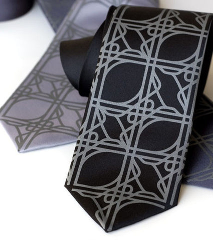 Intersection Knot Necktie