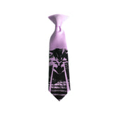 lavender laser kitten tie for kids