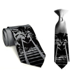 silver father and son laser kitten ties, by Cyberoptix
