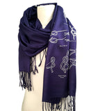 Knotical nautical pashmina