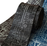 Los Angeles County Old Map Necktie. Southern California Gifts, by Cyberoptix