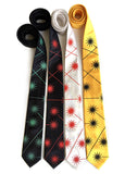 Laser Radiation Warning neckties