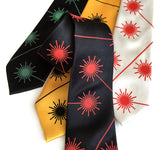 Laser Warning Sign neckties