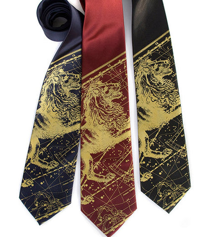 Leo the Lion Silk Necktie