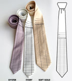 Library Date Due Card Neckties, by Cyberoptix