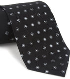 Screw head print necktie, by cyberoptix