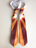Back to the Future double tie.  Marty McFly's tie, by Cyberoptix