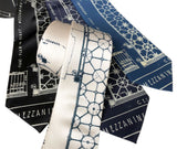 Capitol Theatre Blueprint Neckties, Detroit Opera House Ties