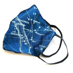 Milky Way Galaxy Face Mask, adjustable fabric face cover