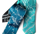 Old Star Chart Ties, by Cyberoptix