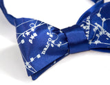 Milky Way Galaxy bow tie: royal blue.