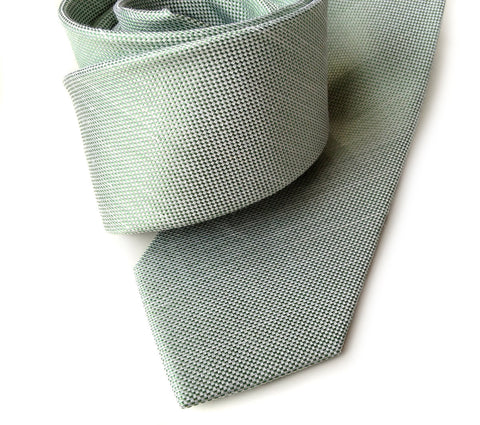 Mint Green Linen Necktie. Solid Color Tie, Spirit of Detroit