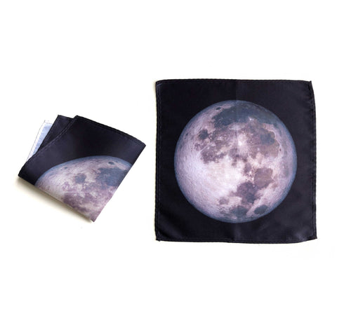 Moon Pocket Square, Space Hanky