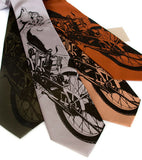 Motorcycle Neckties, for the motorcycle rider and lover.