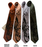 Motorcycle enthusiast neckties.