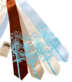 Aspen tree neckties