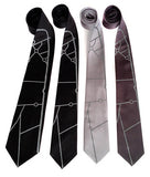 Mulsanne Straight Silk Neckties