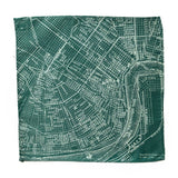 New Orleans Map Pocket Square
