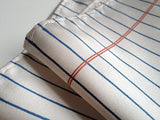 Notebook Paper Pocket Square: cream.
