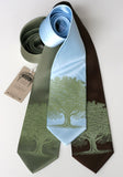 Oak Tree Neckties, by Cyberoptix