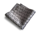 silver oscillator pocket square