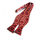 The Shining Inspired Bow Tie, Overlook Hotel Carpet Pattern