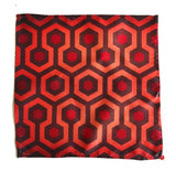 The Shining Inspired Pocket Square, Overlook Hotel Carpet Pattern