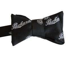 Packard Script Pattern Bow Tie