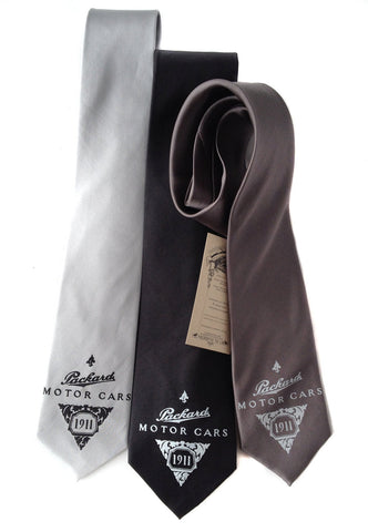 Packard Motors Silk Necktie