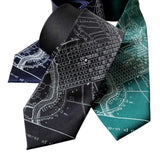 Philadelphia Necktie, Accessories for Men, By Cyberoptix
