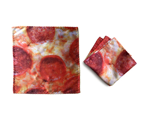 Pepperoni Pizza Pocket Square