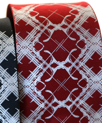 Design Addict Necktie. Plaid Habit Tie