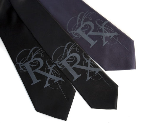 Prescription Rx Fancy Silk Necktie