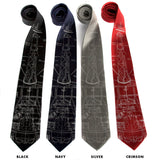 Project Mercury Rocket ties.