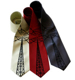Radio Tower Neckties. Radio transmitter ties, by Cyberoptix