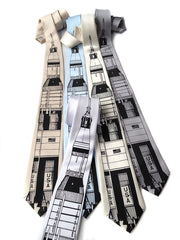 Saturn V Rocket Necktie, NASA Tie
