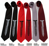 Reds and blacks microfiber array.