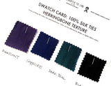 silk swatches for groomsmen neckties