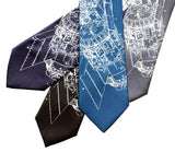 Science ties, skylab prints by Cyberoptix Tie Lab