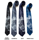 Skylab Space Station Neckties. NASA print ties by Cyberoptix.
