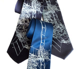 Skylab Necktie. NASA Space Station print ties by Cyberoptix.